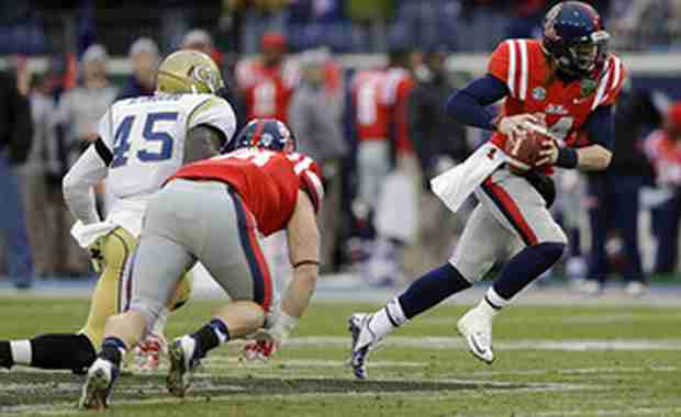 Rebels top Georgia Tech in Music City Bowl