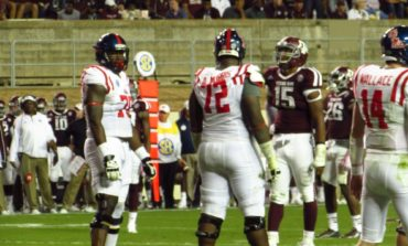 Ole Miss fans celebrate 35-20 win over A&M