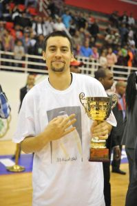 Marshall Henderson is all smiles after being named MVP.