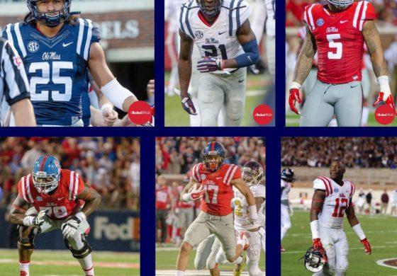 Six Rebels named AP All-SEC
