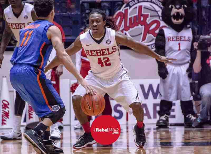 Senior Stefan Moody ready to get to work for Rebels