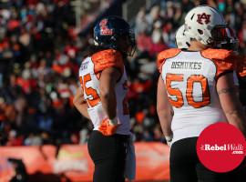 Prewitt and Auburn's Dismukes