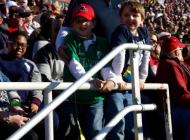 Rebel fans at Senior Bowl