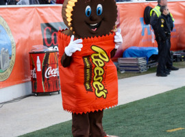 Reese's Senior Bowl Mascot
