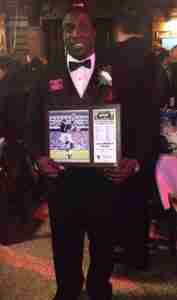 Senquez Golson was honored as an All-American at the 2014 Walter Camp Football Foundation 48th Annual National Awards Dinner at Yale University Dining Commons in New Haven on Saturday, January 17, 2015.