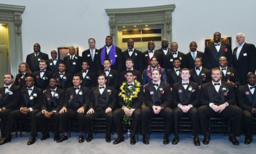 All-American Golson honored at Walter Camp Awards Dinner