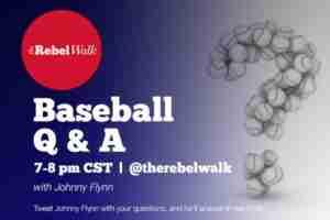 Johnny Flynn hosts a Rebel Walk Q&A every Monday night on Twitter.