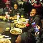 Ole Miss players enjoyed eating at Benihana Wednesday.