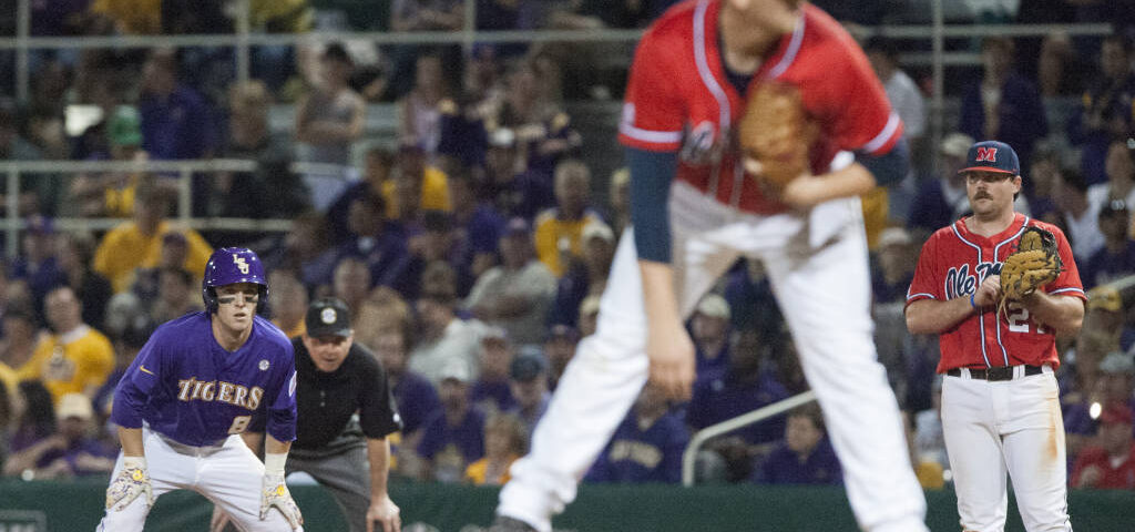 Ole Miss rallies to beat No. 1 LSU in 14 innings