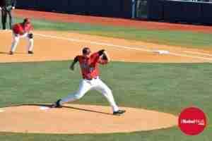 P Brady Bramlett struck out a career-high 12 batters. (Photo credit: Dan Anderson)