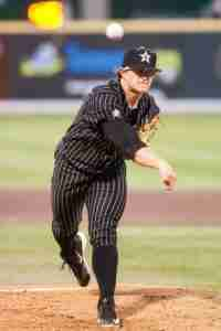 Carson Fulmer struck out 14 Rebels in the Game 1 win.
