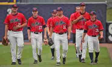 Rebels drop 6-1 game to Tide in SEC tourney
