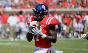 Ole Miss receiver A.J. Brown wins 2017 C Spire Conerly Trophy