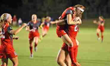 Kizer scores goal in OT as Ole Miss soccer defeats Memphis 2-1