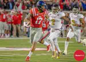 The Kelly-to-Engram combo could be a knockout punch to many teams this season. (Photo credit: Bentley Breland, The Rebel Walk)