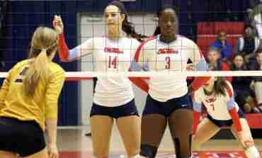 Missouri tops Ole Miss volleyball on Rebels' senior day