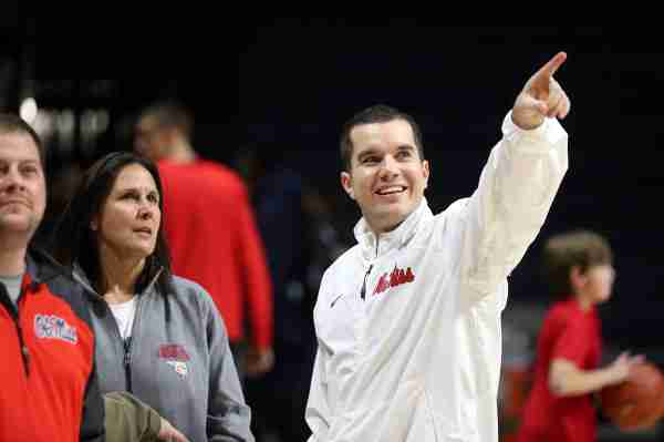 Matt Insell looks forward to a bright future for Ole Miss in The Pavilion