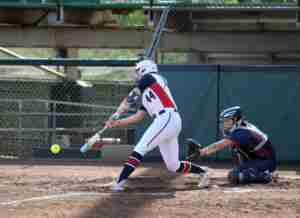 Sophomore Alex Schneider, shown here vs. St. Mary's,