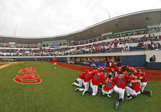 Ole Miss drops 10-inning game to Utah in opener of Oxford Regional