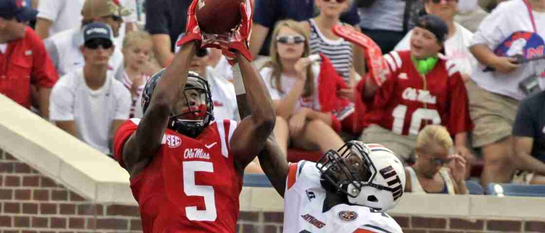 Entering sophomore season, DaMarkus Lodge hopes to be more involved with Ole Miss offense