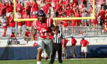 "Rebels' Evan Engram excited and ""at ease"" with final matchup against Alabama"