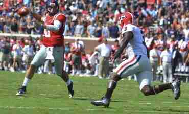No. 21 Ole Miss doesn't look back, pounds No. 11 Georgia 45-14