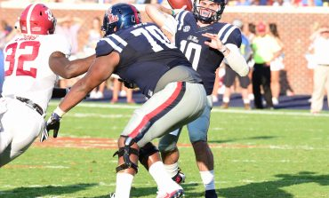 Ole Miss right guard Jordan Sims named SEC Offensive Lineman of the Week