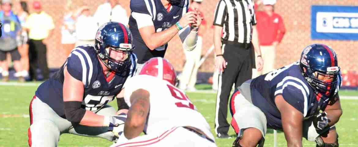 Sean Rawlings expects Rebels' offensive line to bring great energy and effort against Memphis