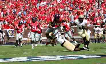 No. 18 Ole Miss cruises past Wofford 38-13