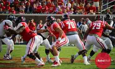 Javon Patterson confident in Ole Miss O-line, regardless of who plays at QB