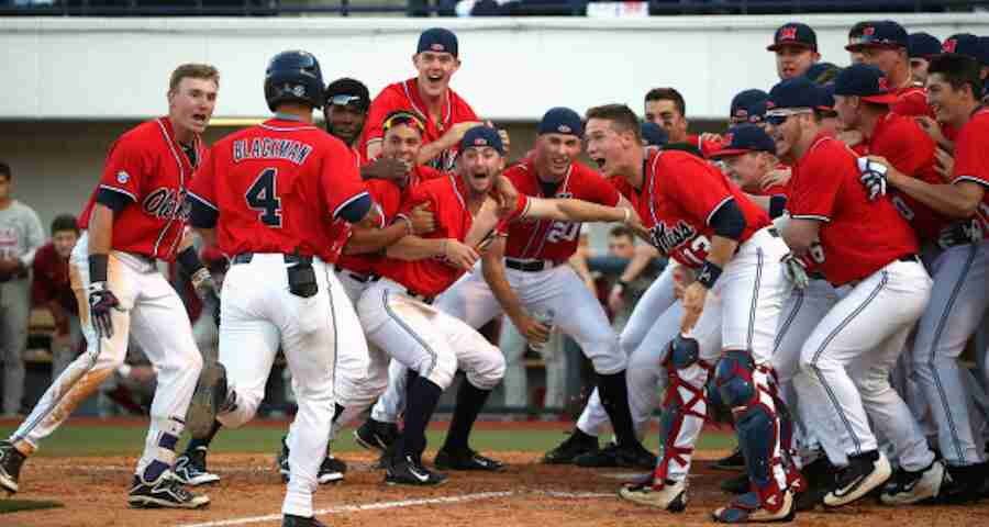 Diamond Rebels sweep Alabama in weekend series at Swayze