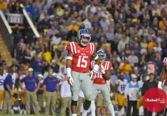 Myles Hartsfield confident at cornerback for Rebels