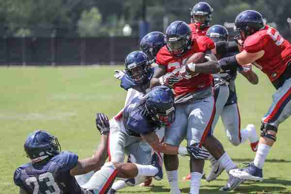 News and notes from Tuesday's Ole Miss practice