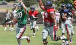 Observations from practice as fall camp winds down for Rebels