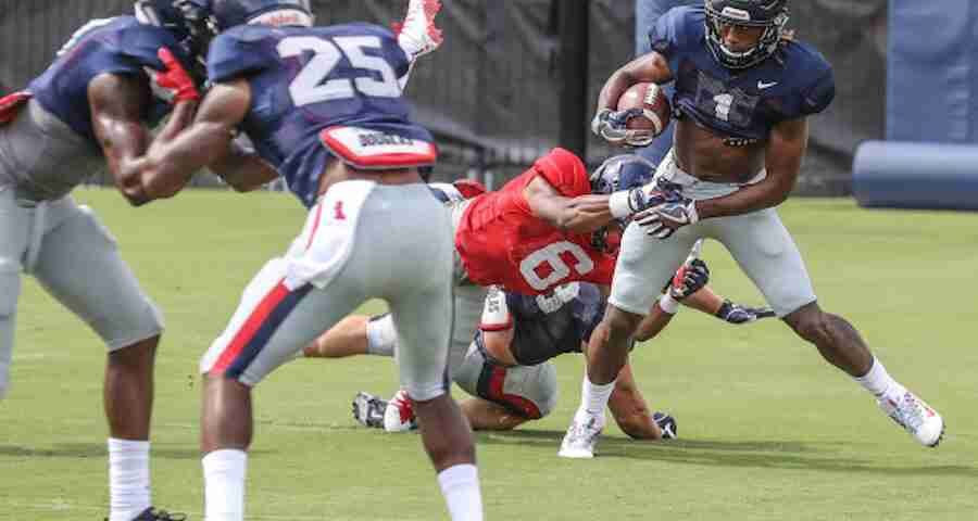 On Coach McGriff's watch, young Rebels will get playing time