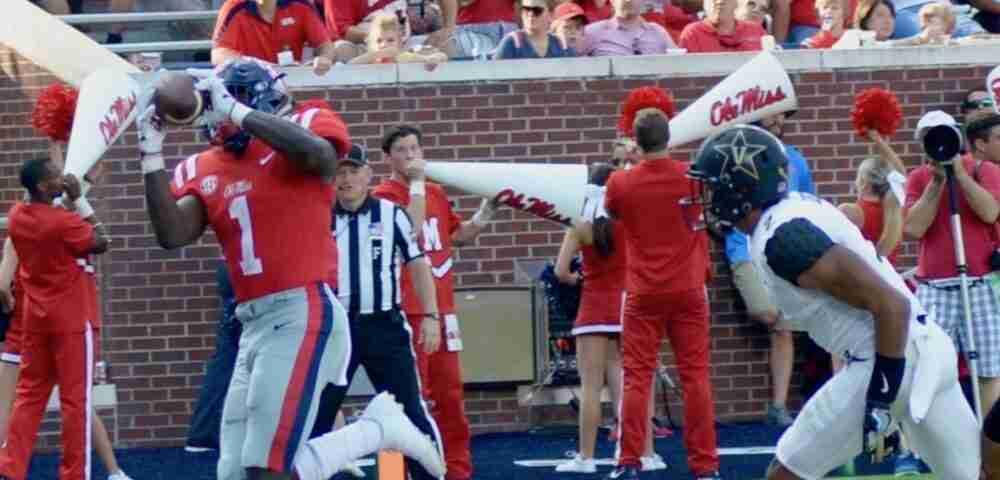 Ole Miss hammers Vanderbilt 57-35