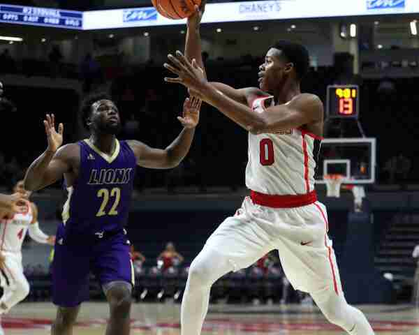 Freshman guard Devontae Shuler shines in Rebels' exhibition game
