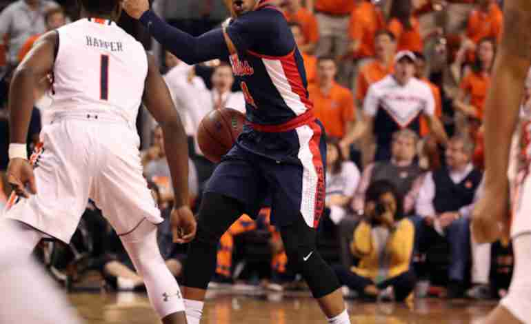 Rebels fall to No. 22 Auburn for first time since 2012