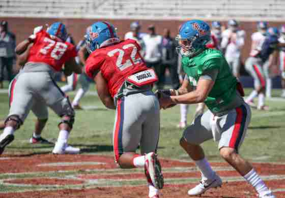 Ole Miss Coach Derrick Nix excited about new faces at running back for the Rebels