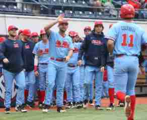 No. 8 Ole Miss notches third sweep in four weekends after 7-3 win over Eastern Illinois