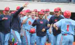 No. 6 Rebels win series with 5-0 shutout of Tennessee in Game 3