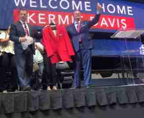 Kermit Davis officially introduced as new Ole Miss head basketball coach