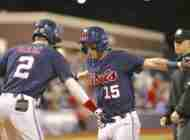 No. 7 Ole Miss falls, 3-2, in game one to No. 12 Georgia