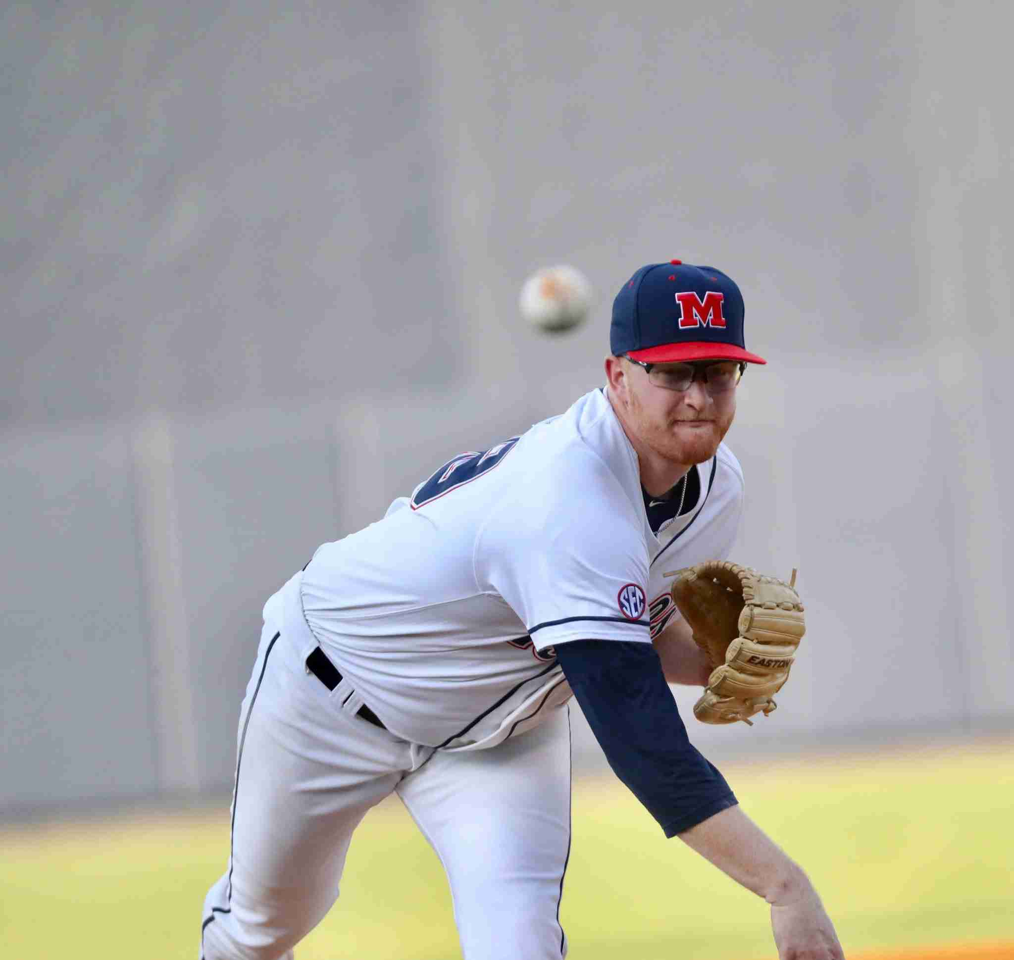 Rebels chase Mize, clinch series against Auburn