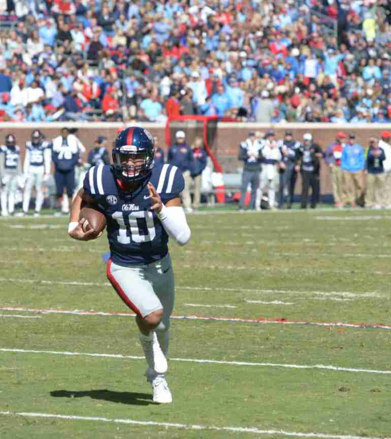 Ole Miss QB Jordan Ta'amu has the talent and support to work his way into Heisman race