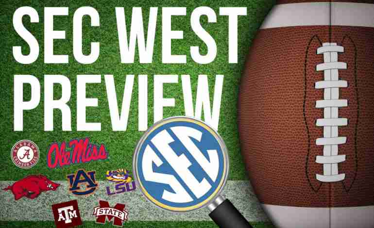 2018 SEC West Preview