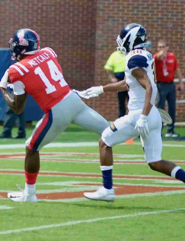 Ole Miss receiver D.K. Metcalf back home after successful surgery