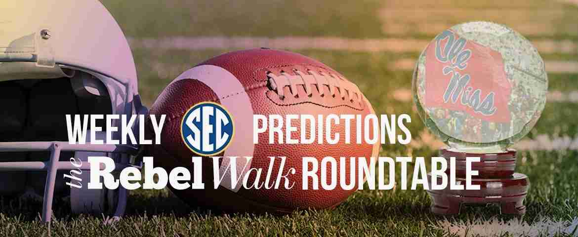 Rebel Walk Roundtable: Week 12 SEC Picks