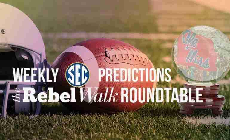 Rebel Walk Roundtable: Week 8 Picks Around the SEC