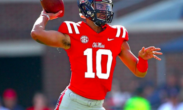Ole Miss QB Jordan Ta'amu tops nation this week in Total QBR